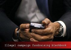 Obama's illegal campaign fundraising blackbook