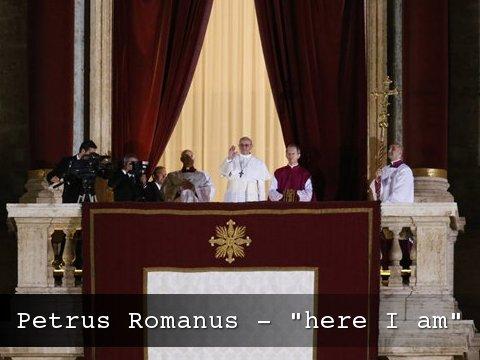 Petrus Romanus is here