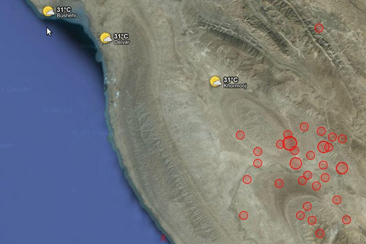 HAARP induced earthquakes in Iran