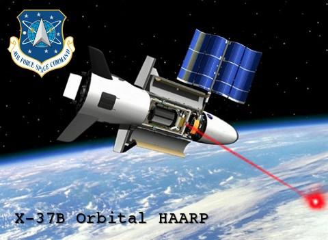 X37-B orbital HAARP