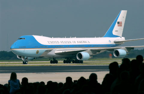 Obama smuggled the biological weapon, swine flu into Mexico using Air Force One.