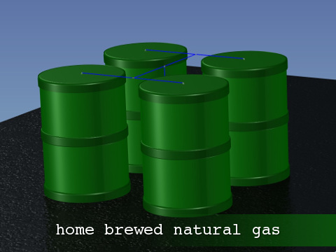 home brewed natural gas