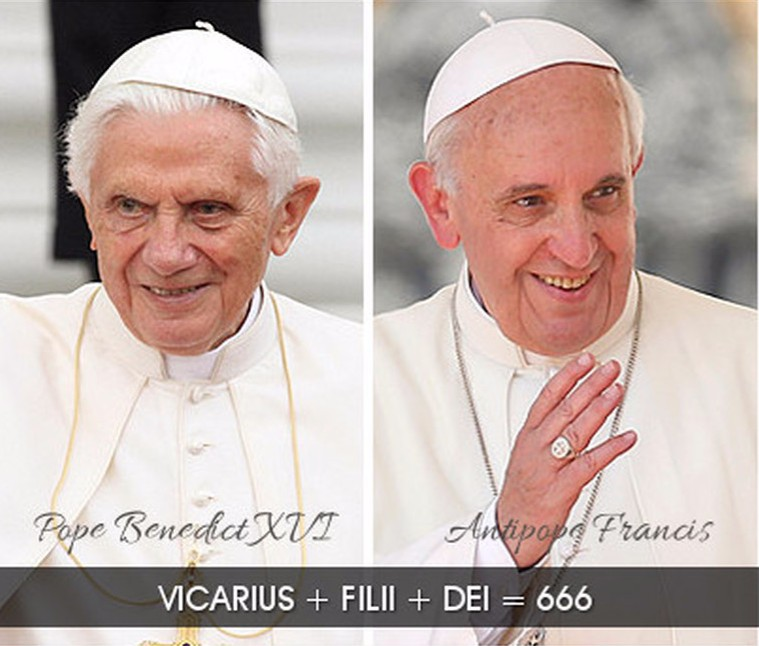 Anti-Christ and antipope