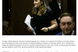 NSICOP investigating Chrystia Freeland while she was Foreign Affairs Minister
