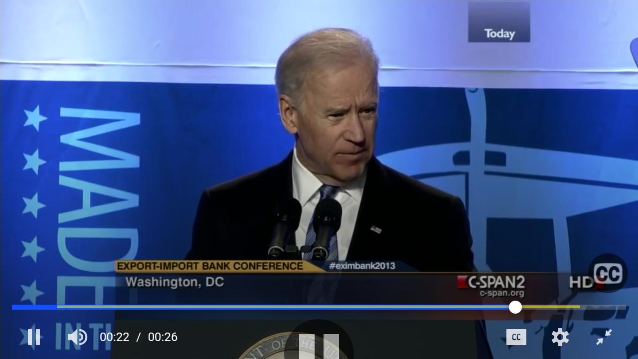Joe Biden task - create a New World Order